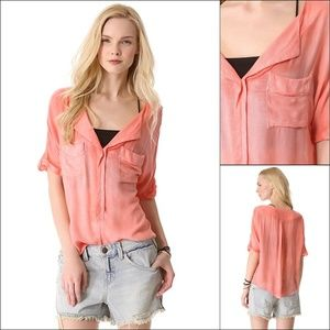 Free People XS American Pie Top in Pink